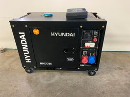 generatore Hyundai Aggregaat / Generator, 8 KVA, 230 + 400 volt 2019