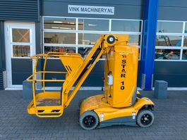 articulated boom lift wheeled Haulotte Star 10 2010