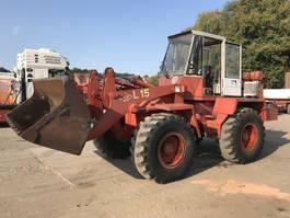 wheel dozer O & K L15 **VERRY GOOD SHAPE - BELGIAN MACHINE ** 1979