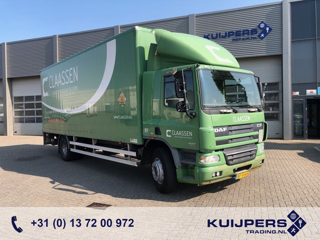 closed box truck > 7.5 t DAF CF 65 220 / Automatic / Box / Loadlift / 819 DKM ! / APK TUV / 3 in stock 2008