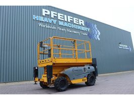 scissor lift wheeld Haulotte COMPACT 10DX Diesel, 4x4 Drive, 10.2m Working Heig 2005