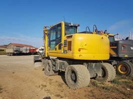 wheeled excavator Komatsu PW148-10 2018