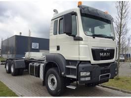 chassis cab truck MAN TGS 33.400 6x4 WW EURO4 RHD 2019