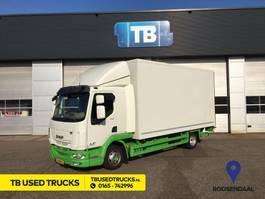 closed box truck DAF LF 210 FA Dhollandia 2017 Used Lease Bakwagen 2017