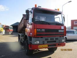 camión contenedor Ginaf GINAF-DAF 85 360 ATI 6X6 FULLSTEELSUSPENSION 1995