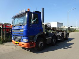 container truck Ginaf X 4241 S 8X4 EURO 5 / NCH KABEL 30 TONS  / MANUAL GEARBOX !! 2009