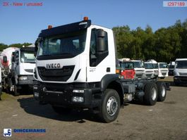 chassis cab truck Iveco Trakker AD380T41 Euro 5 6x4 chassis / NEW/UNUSED