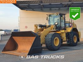 wheel loader Caterpillar 972K Quick hitch - dealer machine 2012