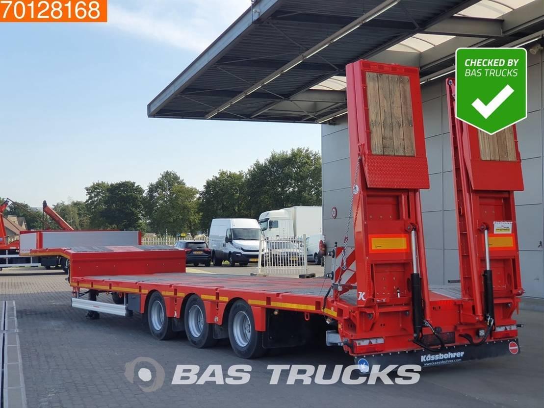 Tieflader Auflieger Kaessbohrer K.SLS 3/0N 18/30 Hydr. Ramps 2020