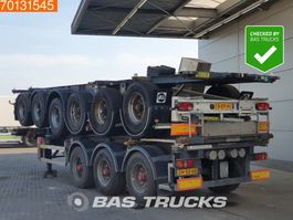 Container-Fahrgestell Auflieger Burg 3 axles ADR 1x 20 ft 1x30 ft 2004
