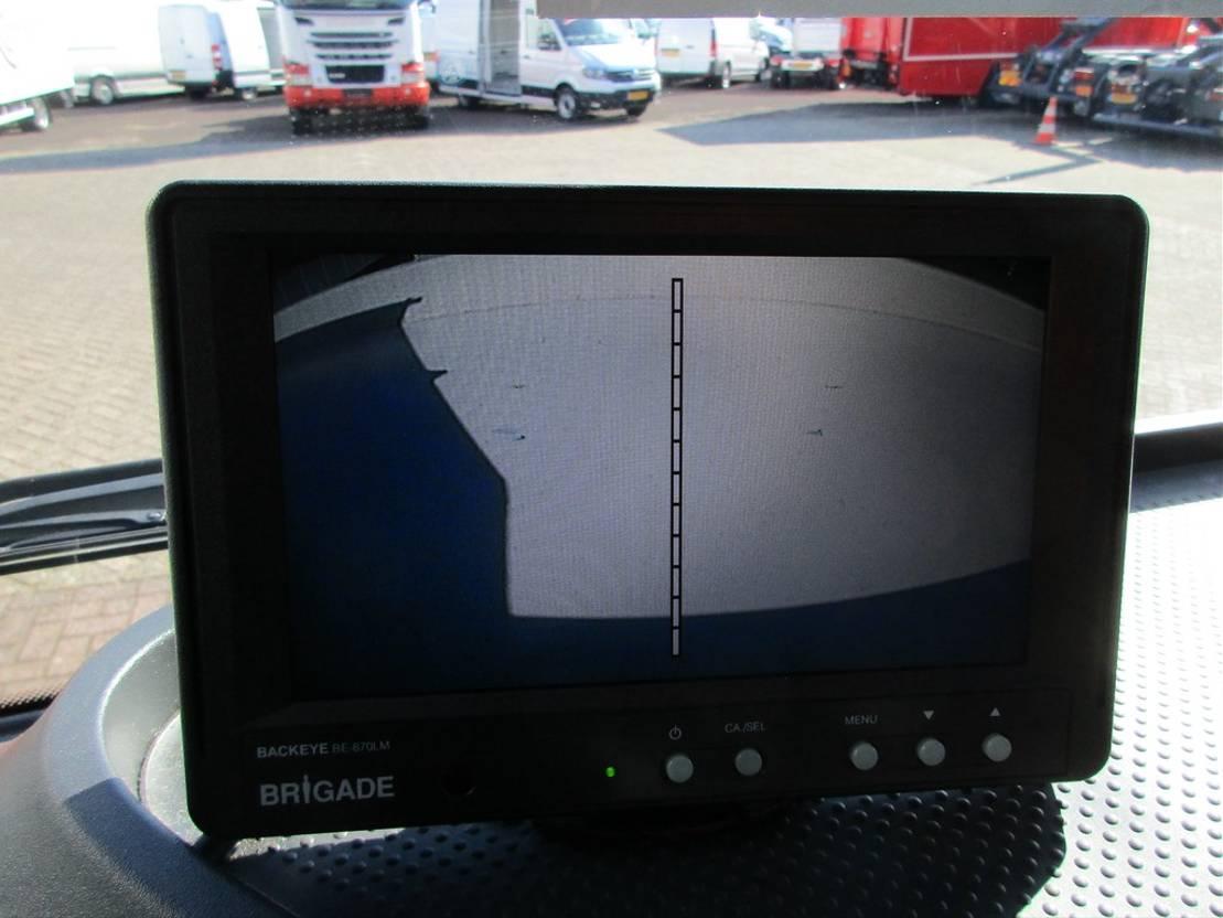 closed box truck > 7.5 t Mercedes Benz 1230L Atego Gesloten bak met klep Euro 6 2015