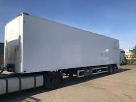 closed box semi trailer Tracon TO S 1210 1997