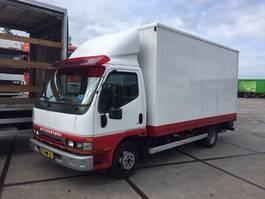 closed box truck > 7.5 t Mitsubishi CANTER FB35 1997