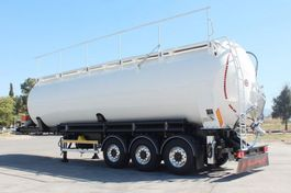 feed semi trailer EKW 62m³ tipping bulk 2020