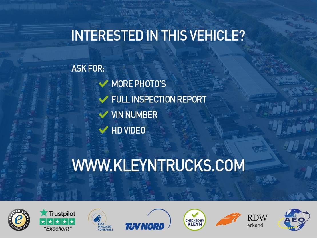 closed box truck > 7.5 t Volvo FM 330 6x2*4 euro 6 lift 2014