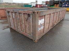 Open Top Versandcontainer Vernooy OPENTOP ZEECONTAINER 012213
