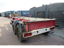 container chassis semi trailer Renders 20 FT chassis / Disc brakes 2000