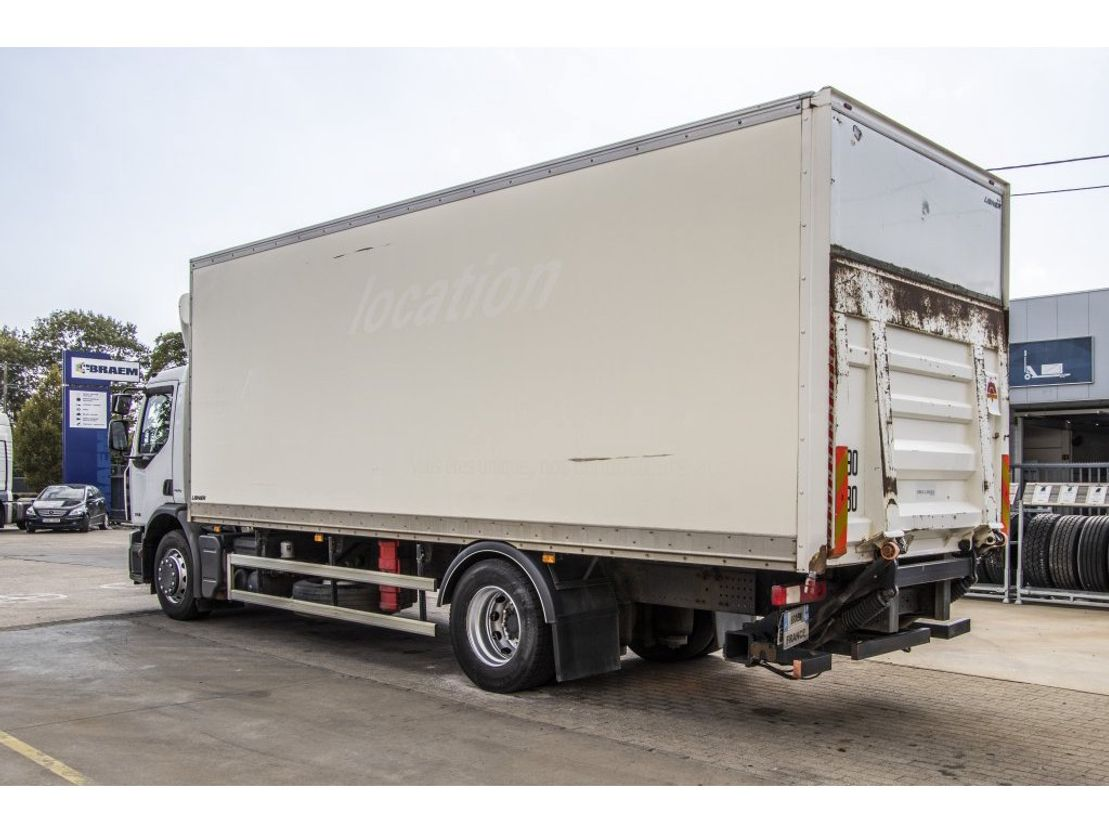 closed box truck > 7.5 t Renault PREMIUM  270 DXI - 7.43M + DHOLLANDIA 2010