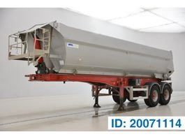 tipper semi trailer Mol 25 cub in alu 2004