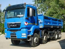 tipper truck > 7.5 t MAN TGS 35.440 8x8 EURO5 DSK Mit Bordmatik TOP!