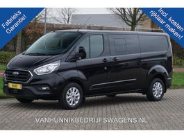 closed lcv Ford Transit Custom 320L 130PK DC Limited Aut €379 / Maand Airco Cruise Navi ... 2020