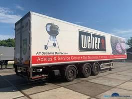 closed box semi trailer Draco TZA 339 2003
