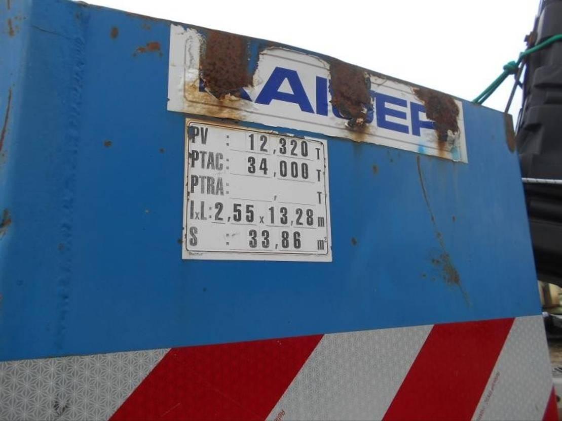 Tieflader Auflieger Kaiser Non spécifié 2004