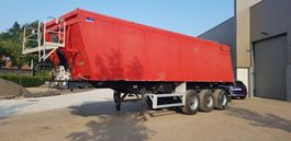 tipper semi trailer Mol 3 axel steel tipper drum brakes  geisoleerd 2007