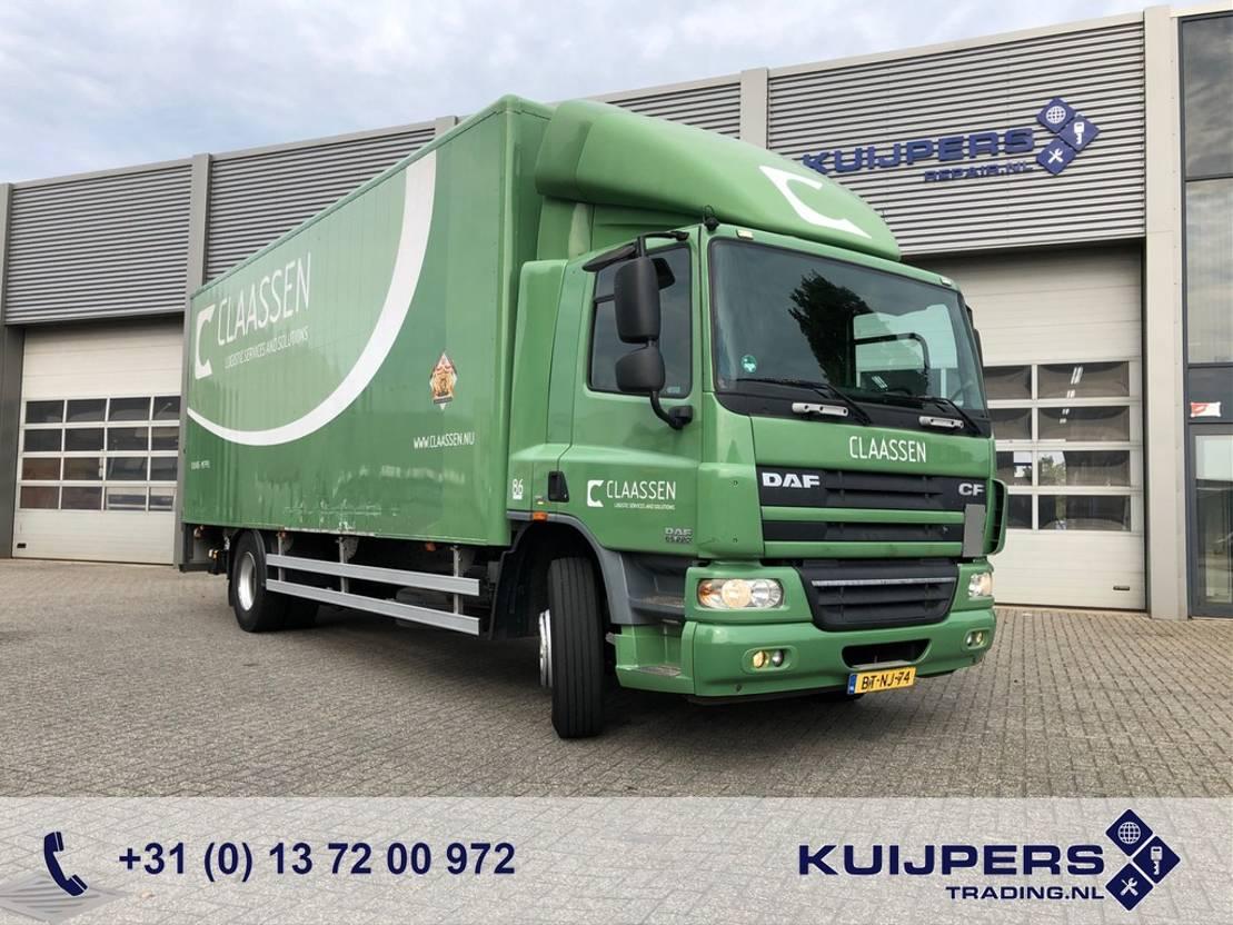 closed box truck > 7.5 t DAF CF 65 220 / Automatic / Alu Box / Loadlift / APK TUV / 3 in stock! 2007