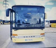 Touristenbus Setra HANDGESCHAKELD