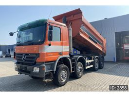 tipper truck > 7.5 t Mercedes Benz Actros 4146 Day Cab, Euro 5, Full Steel // EPS 3 pedals // 8X6 2007