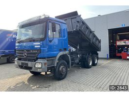 tipper truck > 7.5 t Mercedes Benz Actros 3340 Day Cab, Euro 3, EPS 3 pedals Full steel 1999