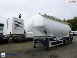 tank semi trailer semi trailer Feldbinder Powder tank alu 40 m3 + engine/compressor 2005
