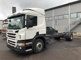 closed box truck > 7.5 t Scania P 280 4x2 2018