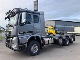 container truck Sisu Polar CM 16 M 8x4/4850 vaihtolava-auto 2020