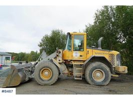 wheel loader Volvo L70E with lever steering 2004