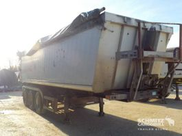 tipper semi trailer Schmitz Cargobull Tipper Alu-square sided body 2005