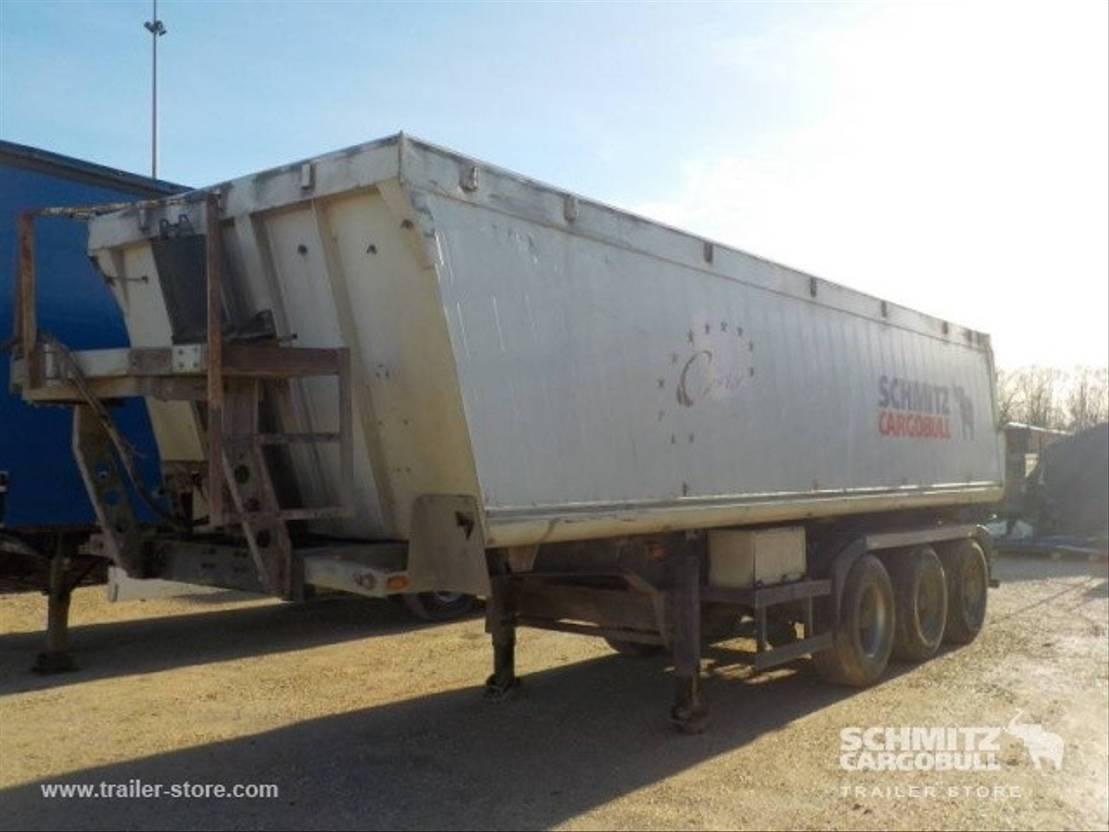 Kipper Auflieger Schmitz Cargobull Tipper Alu-square sided body 2005