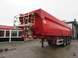 tipper semi trailer MOL 37m3 KIPPER TRAILERS 2006