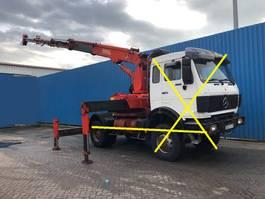 Crane truck part Palfinger PK30000TAV2, Crane + Winch 1988