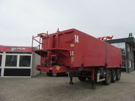 tipper semi trailer ATM 3 AXEL KIPPER - CHASSIS STEEL - TIPPER BUCKET ALUMINIUM 2006