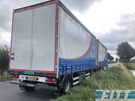 other full trailers Burg FAN XF105/410 6x2 combi, schuifzeilen schuif/hefdak, 4T klep 2012