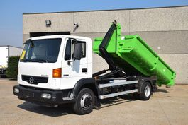 container truck Nissan ATLEON 120.22  4X2 CONTAINER SYSTEEM- CONTAINER SISTEEM- CONTAINER HAAKSYSTEEM- SYSTEME CONTENEUR 2007