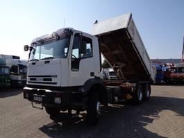 tipper truck > 7.5 t Iveco EuroTrakker 350 + Manual + PTO + Kipper + NO CRANE !!!! 2000