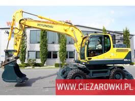 wheeled excavator Hyundai 160W-9A 2016