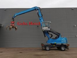 material handler Fuchs MHL 340 Quick Connect System! 2013