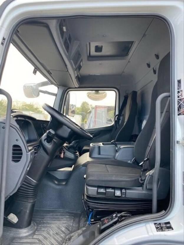 closed box truck > 7.5 t Mercedes Benz Atego III 1230L, Euro-6,Schaltgetriebe, LBW