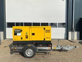 generator Atlas Copco QAS 40 Kubota Leroy Somer 40 kVA Supersilent Mobiele generatorset 2010