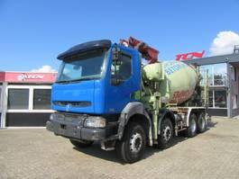 concrete pump truck Renault KERAX 420 8X4 PUMI MET PUTZMEISTER POMP 2004