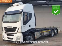 swap body truck Iveco Stralis AS440S42 Hi-Way 6X2 ACC Intarder Liftachse Standklima 2x Tanks 2016